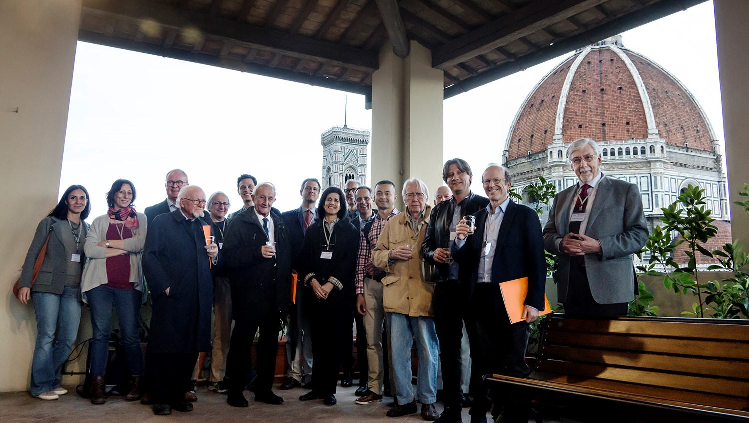 The speakers and participants of the Leonardo da Vinci DNA Project May 2018 Conference.